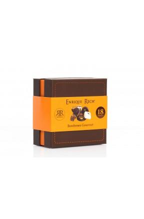 Bombones Gourmet 18 unidades (200g) caja con faja