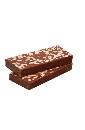 Turrón de Chocolate con Almendras 300g productos