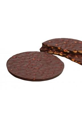 Torta Chocolate puro con Almendras 200g producto