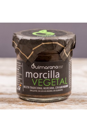 Morcilla Vegetal  130 g producto tarro cristal
