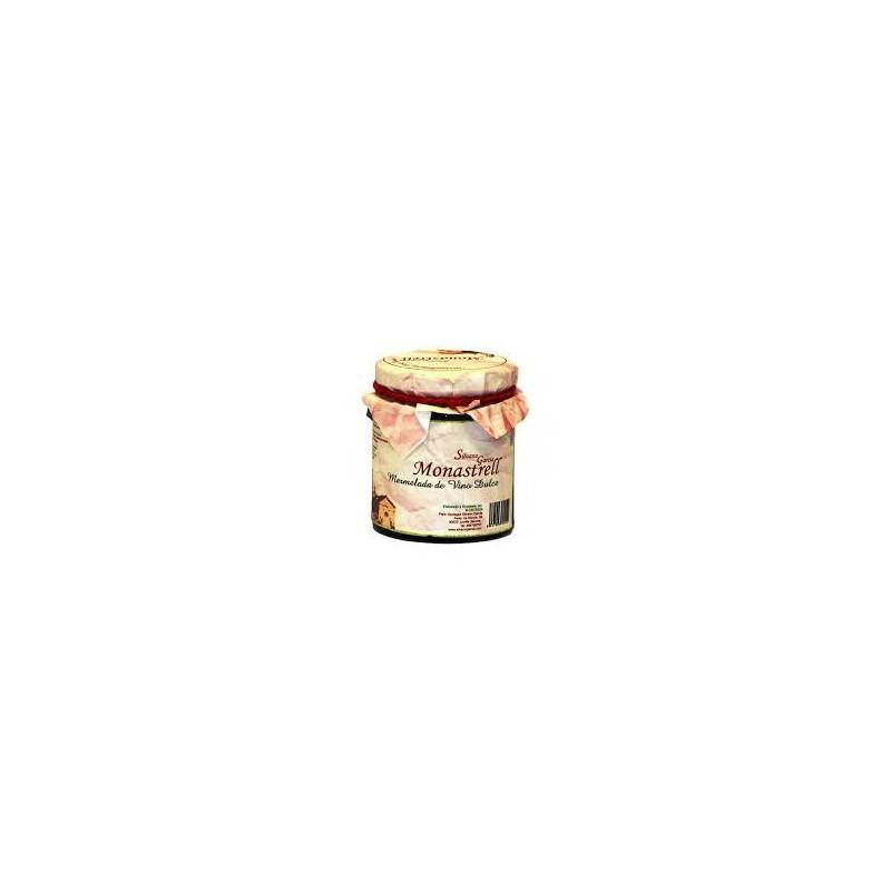 Mermelada Vino Monastrell 250ml tarro cristal