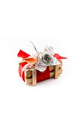 Bombones Gourmet Love Edition Madera 250g caja con lazo