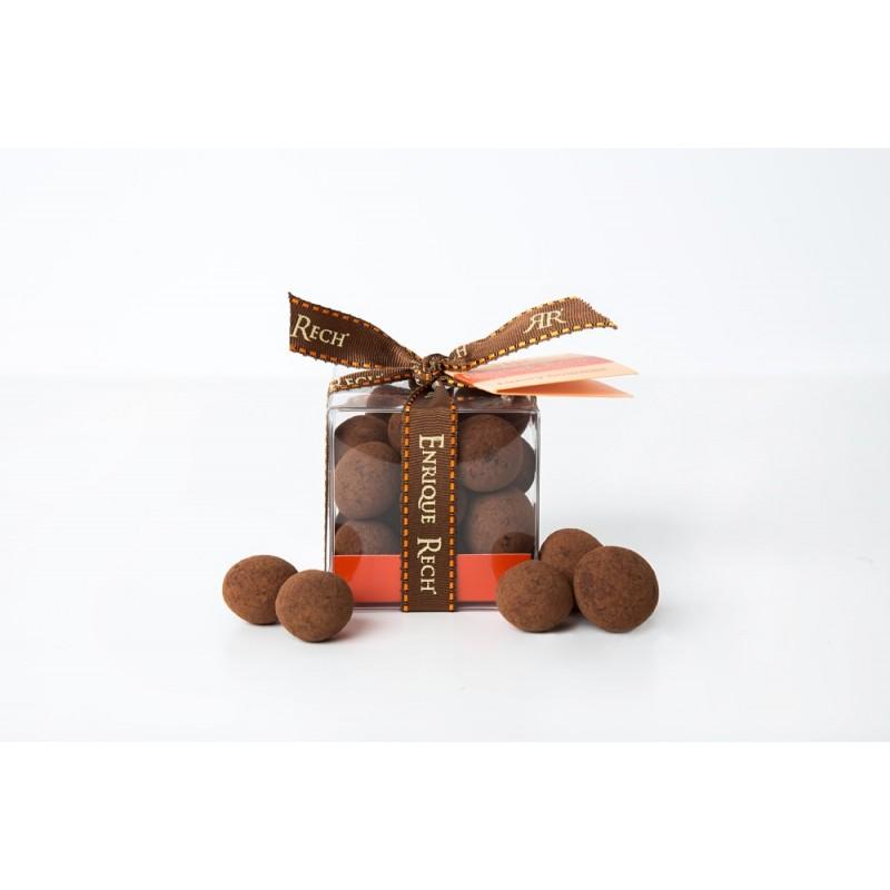 Macadamias al Cacao 120g caja con lazo