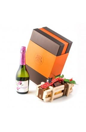 Dulce Día del Padre Luxury Box caja corbata roja