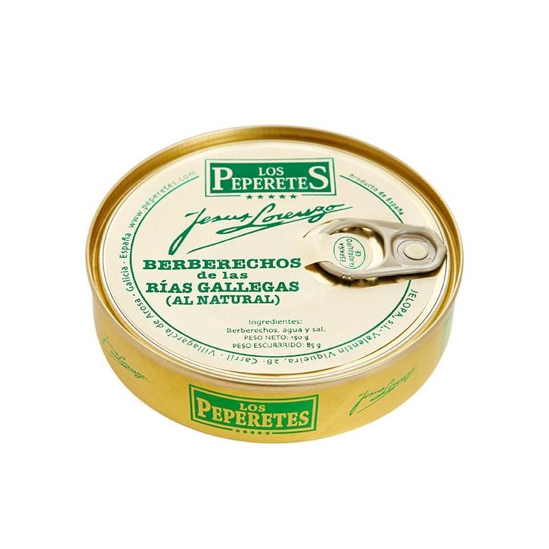 Berberechos Peperetes 30/40 envasado
