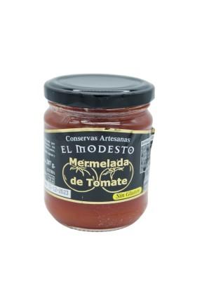 Mermelada Tomate El Modesto T/C 212 gr envase cristal