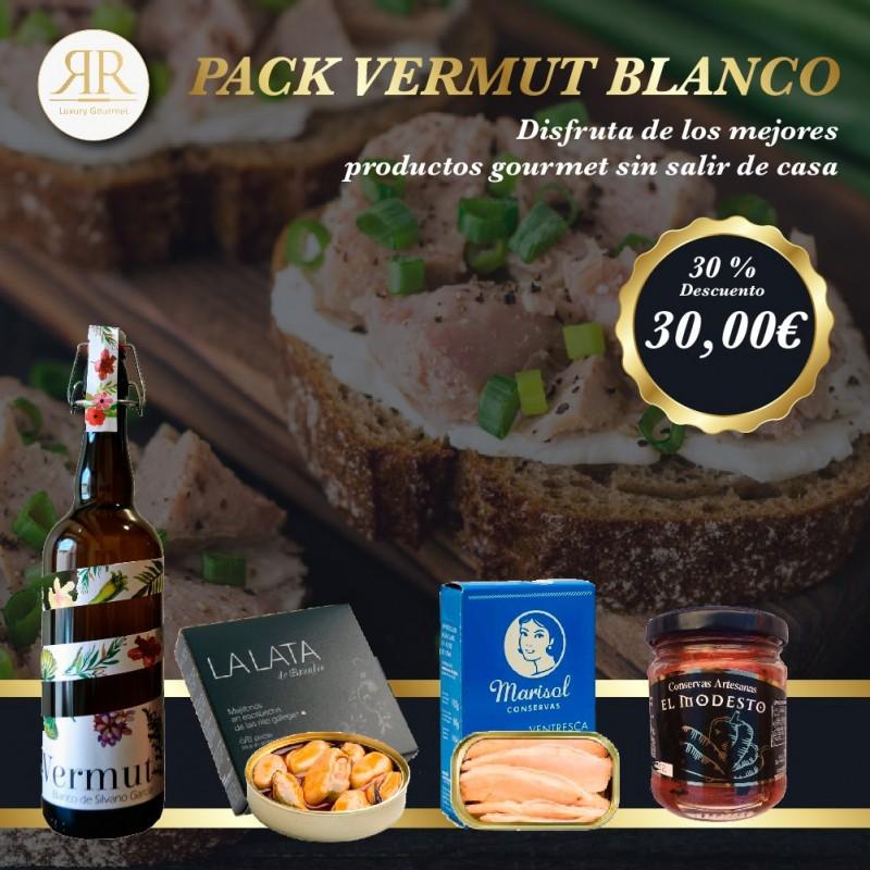 Pack Vermut Blanco flyer promoción