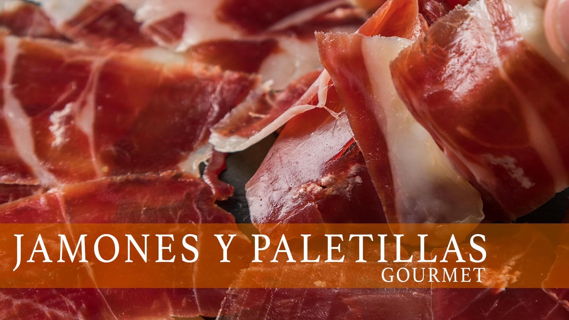 Jamones y Paletillas