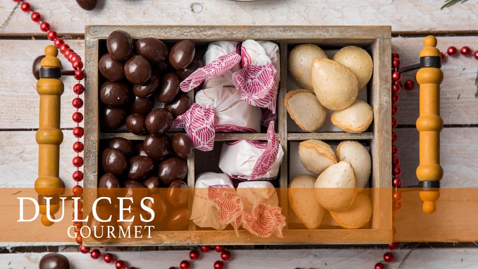 ▷ Dulces Gourmet | Bombones, pasteles y más productos gourmet