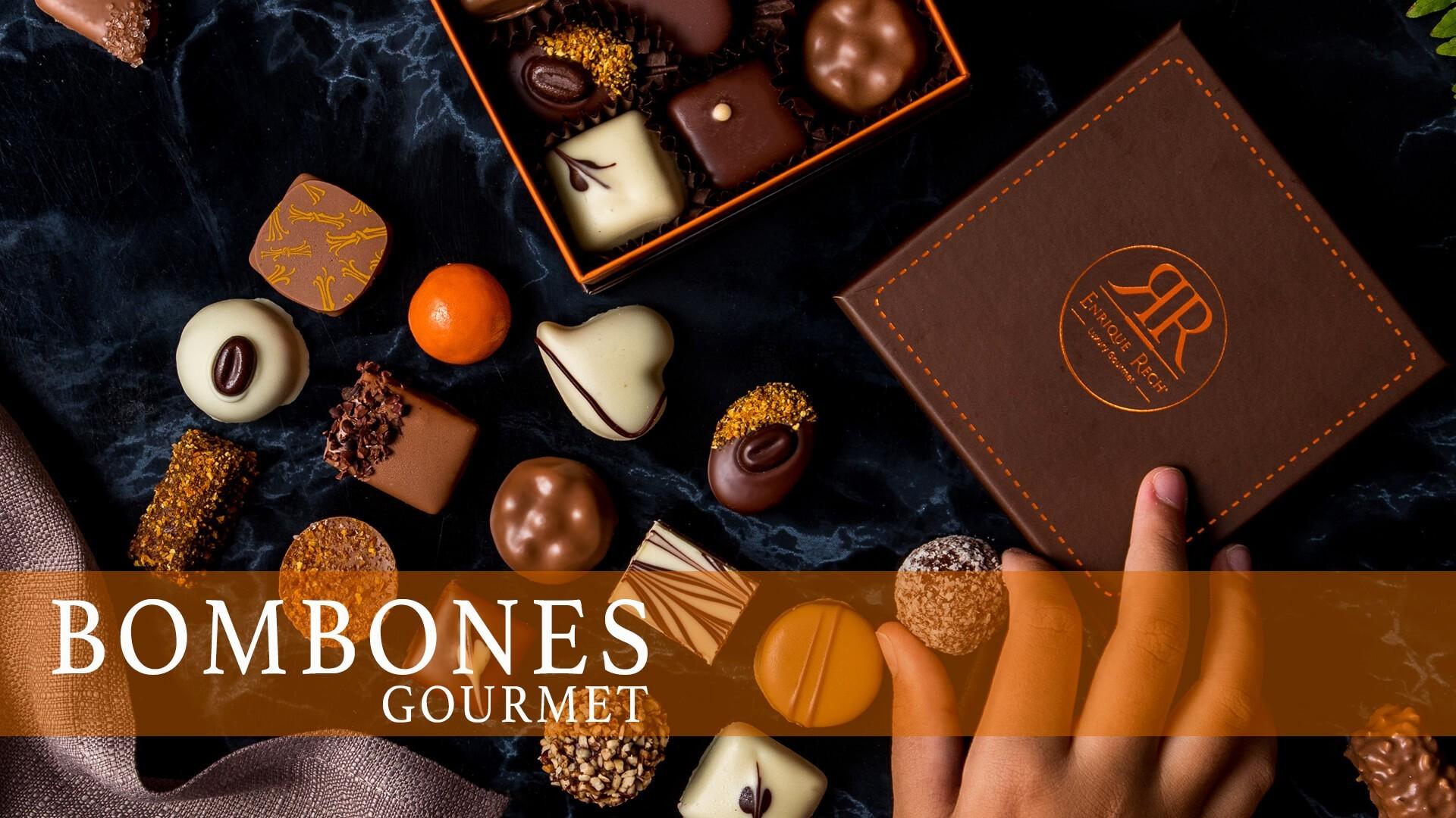 ▷ Bombones gourmet | Enrique Rech │ Bombones online de máxima calidad