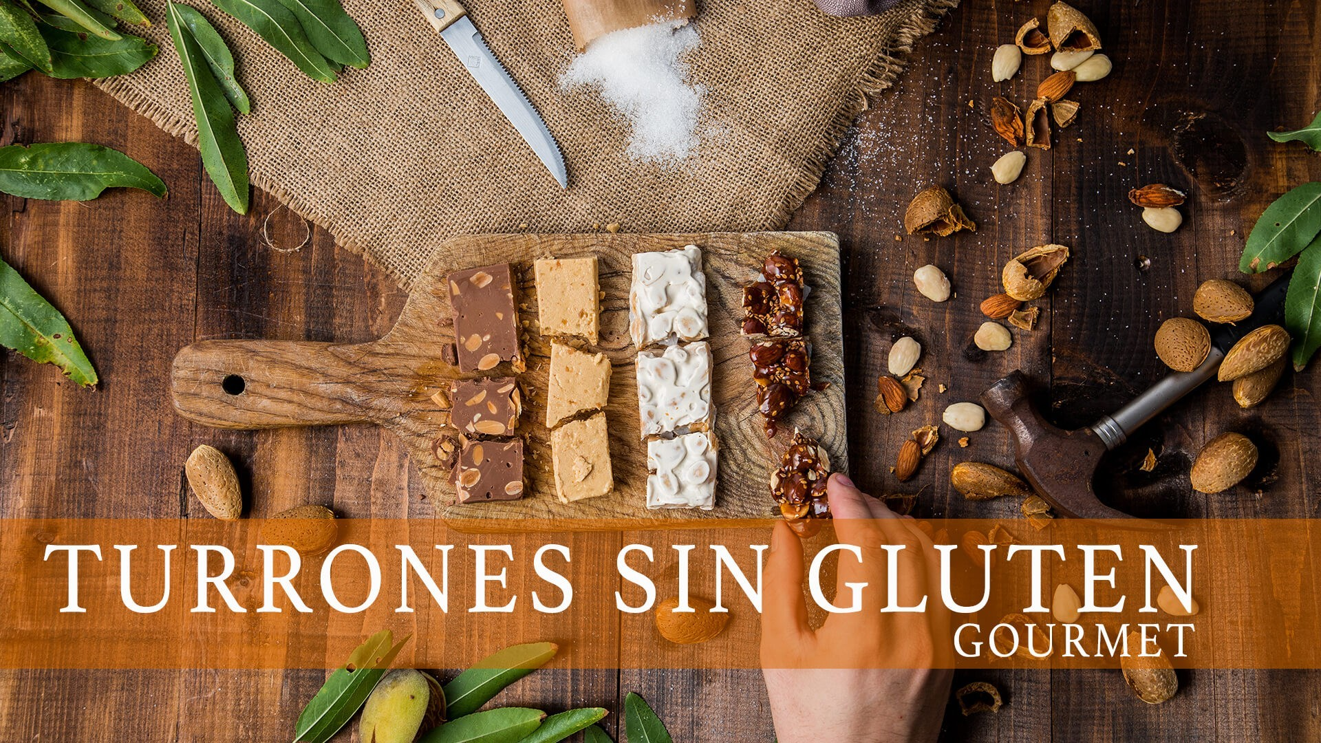 ▷ Turrón sin gluten | Turrones para celíacos de primera calidad
